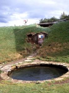 Snorralaug, das von einer heißen Quelle gespeiste Bad Snorris aus dem 13. Jahrhundert Foto: Jan van Nahl