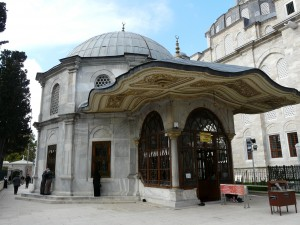 Türbe Mehmeds II. in Istanbul (Foto: Tuure Döring 2011)