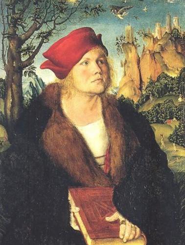 Johannes Cuspinian, Öl auf Holz, Lucas Cranach d. Ä., um 1502 (Quelle: Wikimedia Commons)
