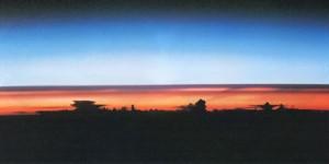 Staubschicht in der Atmosphäre nach Ausbruch des Pinatubo 1991. Quelle: Wikimedia Commons