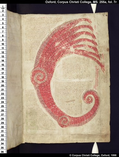 ms. Oxford, Corpus Christi College 255A, fol. 7v