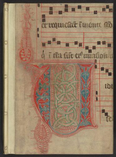Abb. 2: Vorderdeckel der Handschrift Weimar, Goethe-Nationalmuseum, Ruppert 2673. Foto: Klassik Stiftung Weimar.